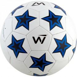 Winner Kick Star futball labda méret: 5 fehér-kék-fekete Sportszer Winner