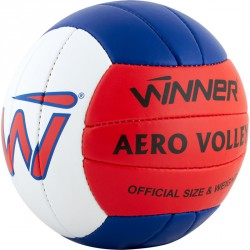 Röplabda Winner Aero PU piros-kék-fehér Sportszer Winner