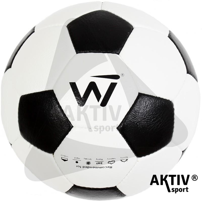Futball labda Winner bőr pöttyös 5. - Futball labda  acd9346077