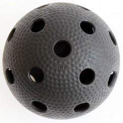 Floorball labda Salming Aero fekete Sportszer Salming