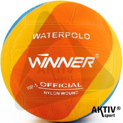 Vízilabda Winner Wp Swirl narancs No.5