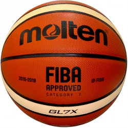 Kosárlabda, Molten GL7X, bőr olimpiai versenylabda Kosárlabda Molten