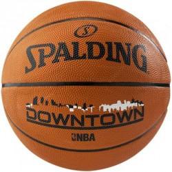 Kosárlabda Spalding NBA Downtown kültéri méret: 7 narancssárga Sportszer Spalding