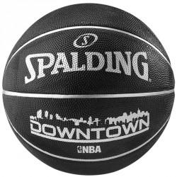 Kosárlabda Spalding NBA Downtown kültéri méret: 7 fekete Sportszer Spalding