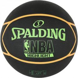 Kosárlabda Spalding NBA Highlight kültéri méret: 7 fekete/narancs Sportszer Spalding