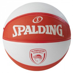 Kosárlabda Spalding EL Olympiacos Piräus méret: 7 Sportszer Spalding