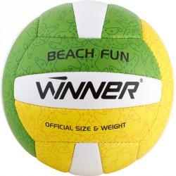Beach Fun röplabda zöld-sárga Sportszer Winner