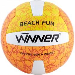 Beach Fun röplabda sárga-narancs Sportszer Winner