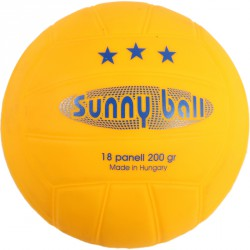 Sunny Ball strandlabda 15 cm sárga Sportszer