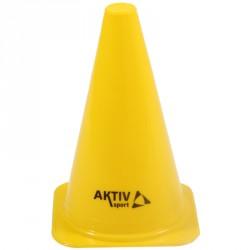 Aktivsport Labdarúgó bója 23 cm sárga Sportszer Aktivsport