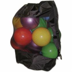 Fekete eszköztartó zsák necc és orkán anyagból Sportszer