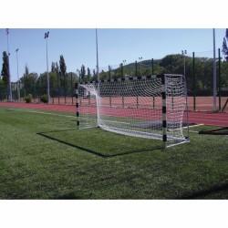 Labdarúgó-kapu, ALU, 5x2 m, hüvelyekkel Sportszer Drenco