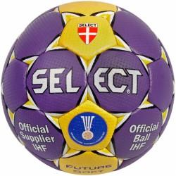 Kézilabda Select Future Soft lila - sárga Sportszer Select