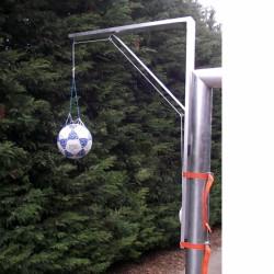 Fejelő állvány, kapura szerelhető Sportszer Drenco