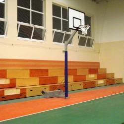 Védőburkolat kosárlabdaállványhoz Sportszer