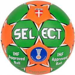 Kézilabda Select Future Soft zöld - narancs Labdák Select