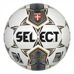 Futball labda Select Brillant Super 5-ös fehér-szürke Futball labda Select