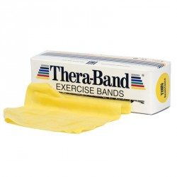 Gumiszalag Thera-Band sárga 1,5 m gyenge Sportszer Thera-Band