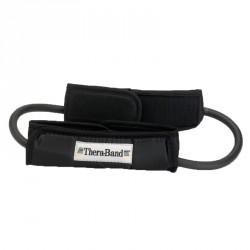 Thera-Band gumikötél hurok fogantyúval fekete szuper erős Sportszer Thera-Band
