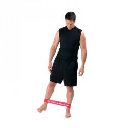 Thera-Band gumiszalag hurok 20,5 cm piros közepes Sportszer Thera-Band