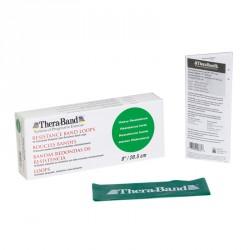 Thera-Band gumiszalag hurok 20,5 cm zöld erős Sportszer Thera-Band