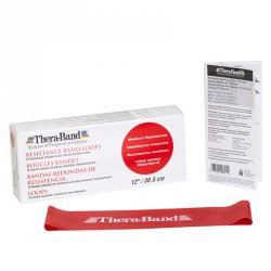 Thera-Band gumiszalag hurok 30,5 cm piros közepes Sportszer Thera-Band