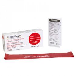 Thera-Band gumiszalag hurok 45,5 cm piros közepes Sportszer Thera-Band