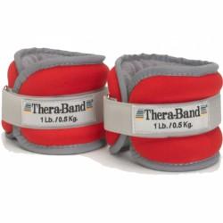 Tépőzáras csuklósúly Thera-Band 0,5kg piros Sportszer Thera-Band