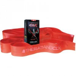 Thera-band CLX Consecutive Loop 2,2 m közepes, piros Sportszer Thera-Band