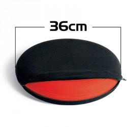 Mosható huzat dinamikus ülőpárnához Togu 36 cm fekete Egyensúlyozó eszközök Togu