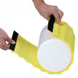 Wrap tépőzáras rögzítéssel Thera-Band masszázs hengerhez extra puha, sárga Sportszer Thera-Band