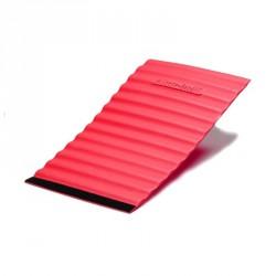 Wrap tépőzáras rögzítéssel Thera-Band masszázs hengerhez puha, piros Sportszer Thera-Band