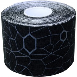 Kineziológiai tapasz Thera-Band 500x5 cm fekete, szürke mintával Sportszer Thera-Band