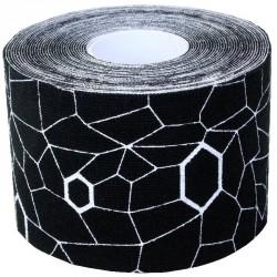 Kineziológiai tapasz Thera-Band 500x5 cm fekete, fehér mintával Sportszer Thera-Band