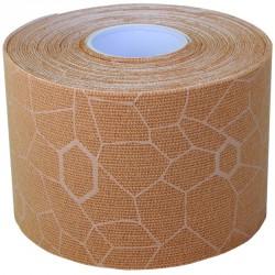 Kineziológiai tapasz Thera-Band 500x5 cm beige, beige mintával Sportszer Thera-Band