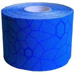 Kineziológiai tapasz Thera-Band 500x5 cm kék, kék mintával Sportszer Thera-Band
