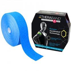Kineziológiai tapasz Thera-Band 31,4 m x 5 cm kék, kék mintával Sportszer Thera-Band