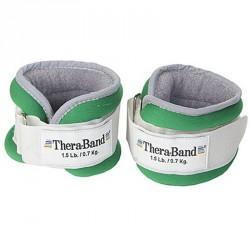 Tépőzáras csuklósúly Thera-Band 0,7 kg zöld Sportszer Thera-Band