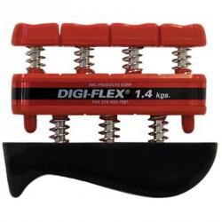 Kéz-és ujj erősítő Digi-Flex piros Sportszer Thera-Band