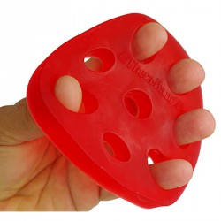 Kézerősítő Thera-Band Hand Xtrainers piros, kezdő Sportszer Thera-Band