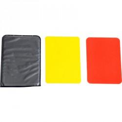 Aktivsport Bírói lap tokban(piros+sárga) Sportszer Aktivsport