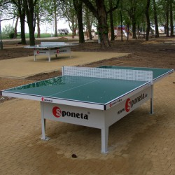 Sponeta S6-66e zöld kültéri ping-pong asztal Sponeta ping-pong asztal Sponeta