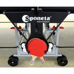 Sponeta ütő- és labdatartó ping-pong asztalhoz Kiegészítő Sponeta