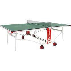 Sponeta S3-86i zöld beltéri ping-pong asztal fehér lábakkal Sponeta ping-pong asztal Sponeta