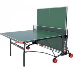 Sponeta S3-86e zöld kültéri ping-pong asztal fekete lábakkal Sponeta ping-pong asztal Sponeta