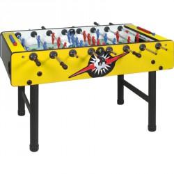 Bomber Longoni asztali foci sárga Csocsóasztal érmevizsgáló nélkül Longoni