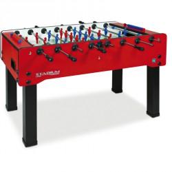 Csocsóasztal Stadium Family Longoni beltéri piros Csocsóasztal érmevizsgáló nélkül Longoni