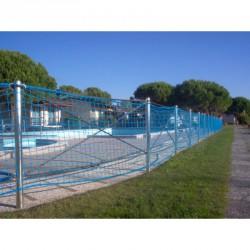 Védőháló, 10x10 cm 3,5mm olasz, kék 33010005 Sportszer FAR