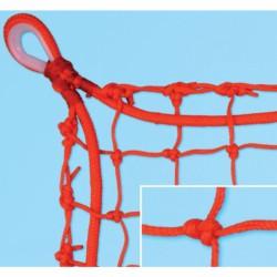 Védőháló, 7x7 cm olasz 5 mm, piros kültéri 33010006 Sportszer FAR