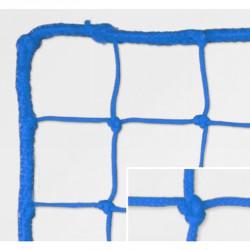 Védőháló, 10x10 cm olasz 5 mm, kék kültéri 33010014 Sportszer FAR
